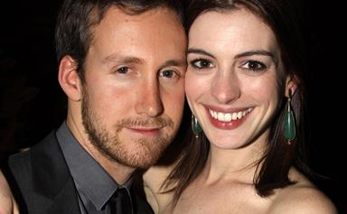 Anne Hathaway welcomes a son!