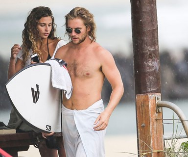 Home and Away's George Mason cosies up to French girlfriend