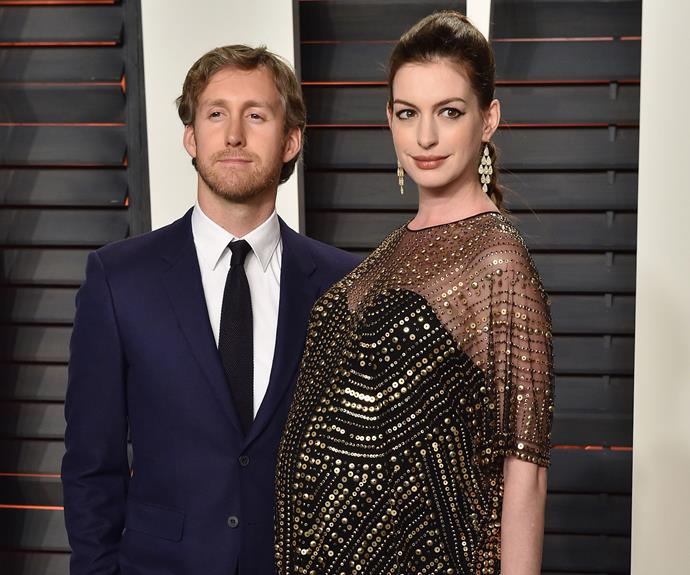 The couple welcomed their son Jonathan in 2016. Photo: Getty