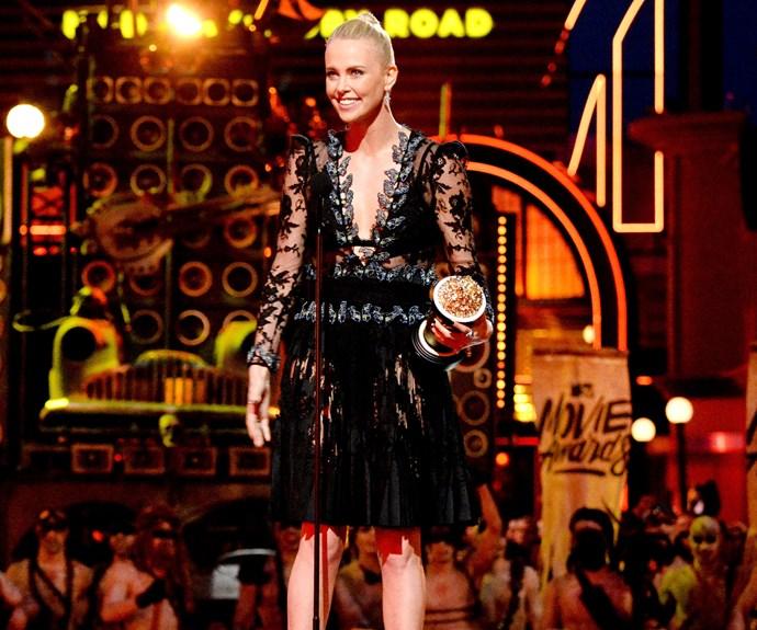 Charlize Theron, MTV Movie Awards 2016