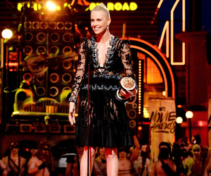 Charlize Theron, MTV Movie Awards 2016