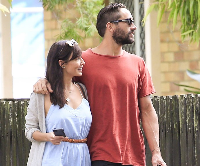 Natalie Imbruglia and Ryan Bienefelt