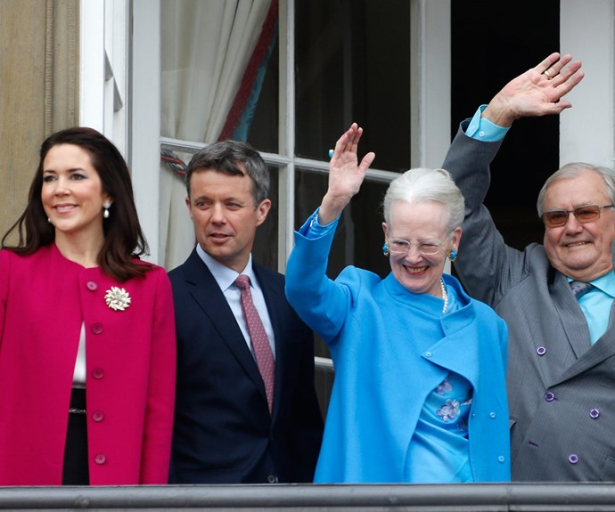 Princess Mary Prince Frederik Queen Margrethe