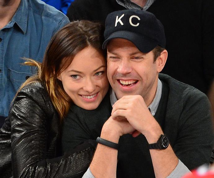 Congratulations to Olivia Wilde and Jason Sudeikis.