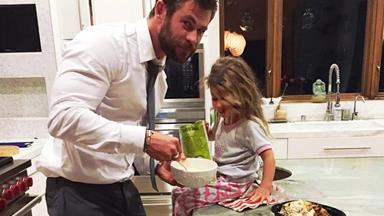 Chris Hemsworth's daughter wants a penis