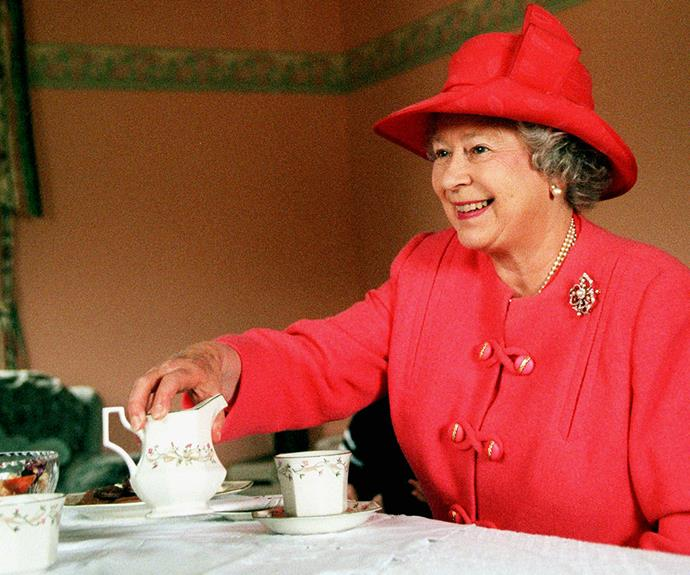 Tea with The Queen is a big deal. Even more so when it involves Prince Harry bringing along his girlfriend!