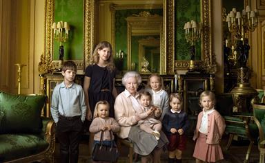 Incredible new portraits of Queen Elizabeth