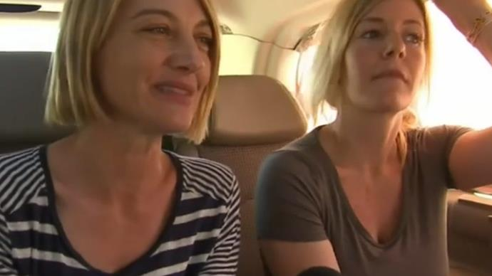 Tara Brown and  Sally Faulkner