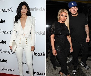 Kylie Jenner shocks fans by posing for friendly photo with Blac Chyna