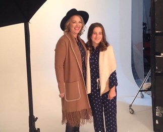 Watch: Behind the scenes of our Mother's Day photo shoot