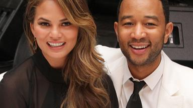It's puppy love! Chrissy Teigen shares first video of baby Luna