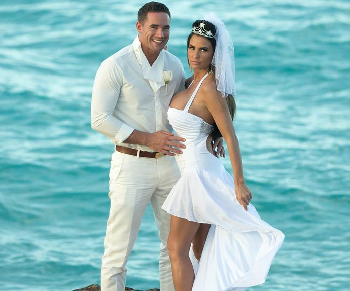 Katie Prince and Kieran Hayler