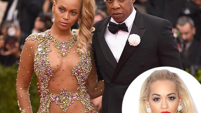Beyonce Jay Z Rita Ora