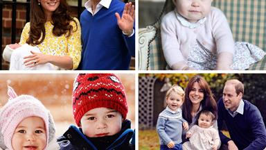 Princess Charlotte of Cambridge turns one