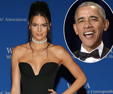 Obama jokes about Kendall Jenner at White House Correspondents' Dinner