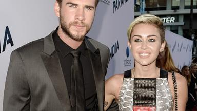 Miley Cyrus and Liam Hemsworth return to LA holding hands