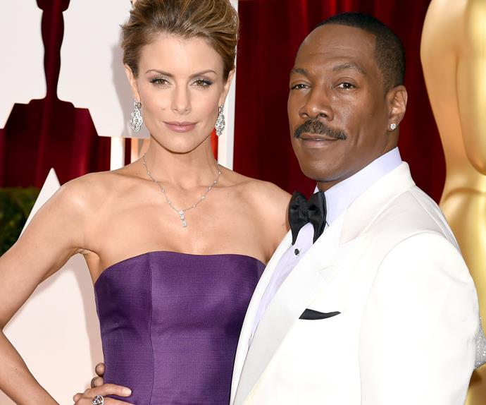 Eddie Murphy and Paige Butcher
