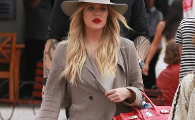 Khloe Kardashian's latest Instagram post causes kontroversy