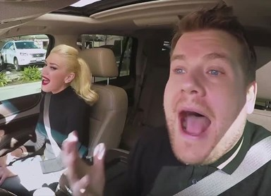 Gwen Stefani joins James Corden for Carpool Karaoke