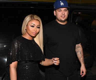 """We're pregnant!"" Rob Kardashian and Blac Chyna are expecting!"