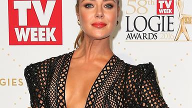 Jessica Marais wishes daughter a happy birthday during Logies speech
