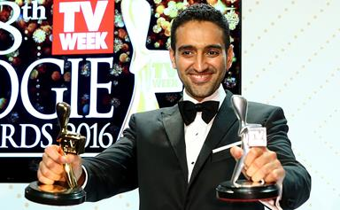 Waleed Aly wins the Gold Logie