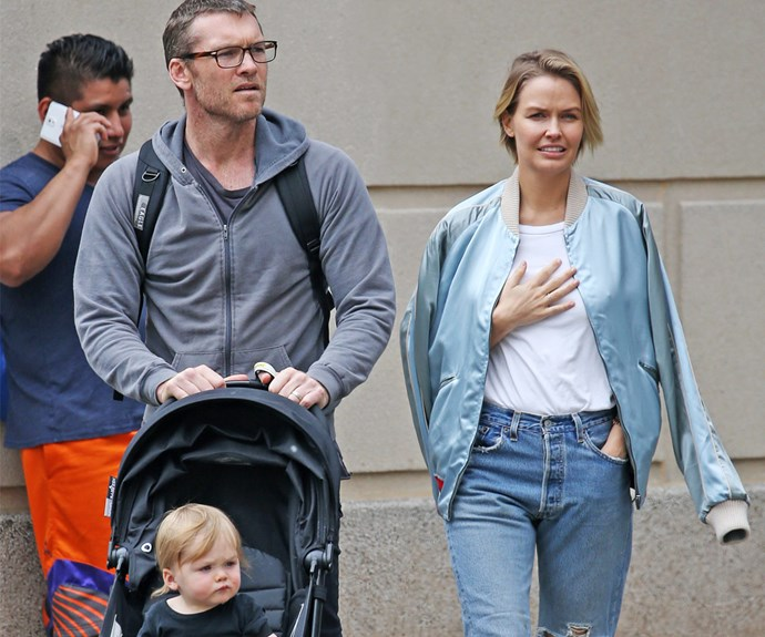 Lara Worthington, Sam Worthington, Rocket Worthington