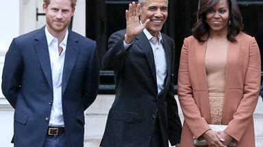 Prince George embarrassed Prince Harry in front of the Obamas