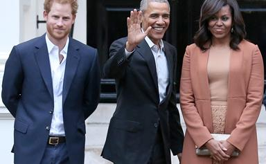 Still the best of mates! Prince Harry interviews Barack Obama