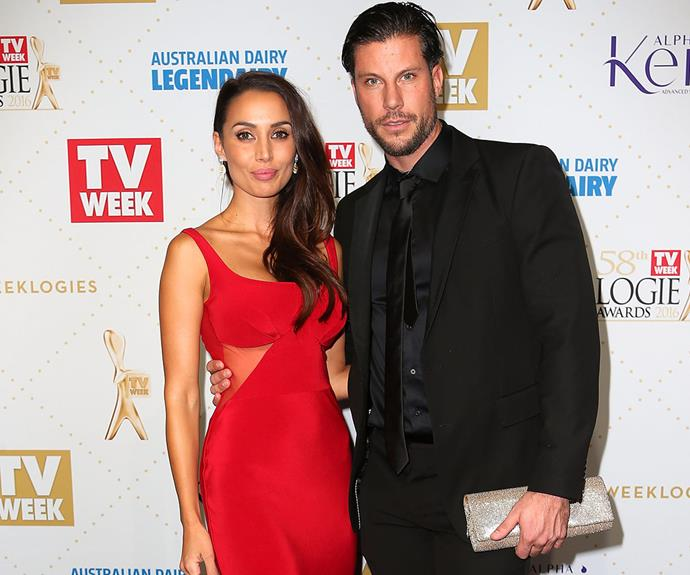 The brunette beauty stunned at last year's Logies.