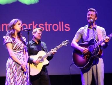 Watch: Justin Timberlake & Anna Kendrick duet on 'True Colours'