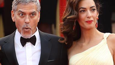 Amal Clooney just avoided a major wardrobe mishap