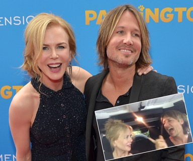 Keith Urban and Nicole Kidman's goofy sing-a-long