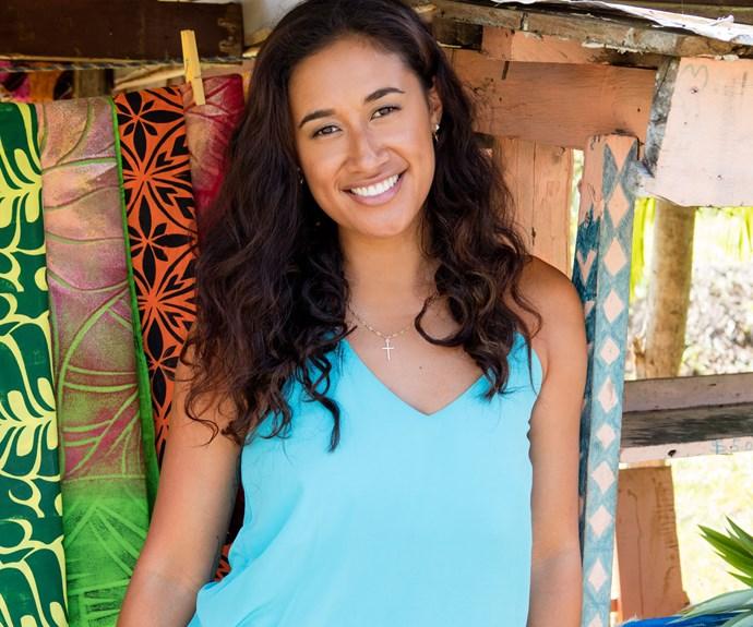 Pacific princess: Maria Tutaia's happy homecoming