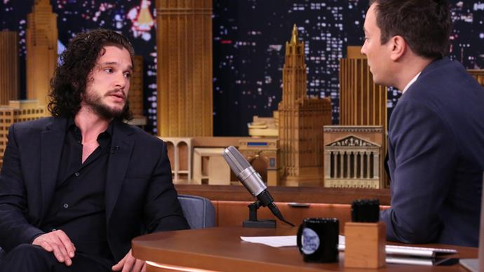 Kit Harington Jimmy Fallon