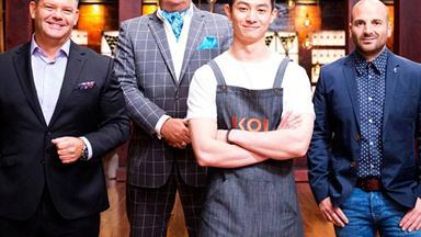 From pressure test to pressure king: Reynold returns to the Masterchef kitchen