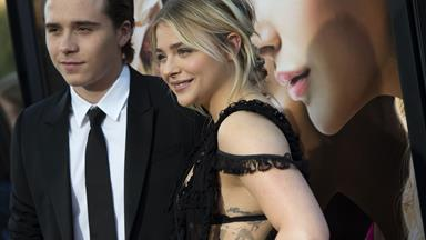 Chloe Moretz & Brooklyn Beckham make their red carpet debut