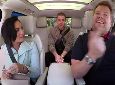 Watch: Demi Lovato & Nick Jonas do Carpool Karaoke