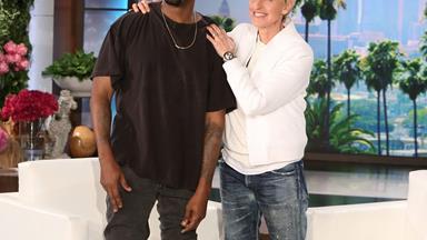Kanye West's has a bizarre meltdown on Ellen