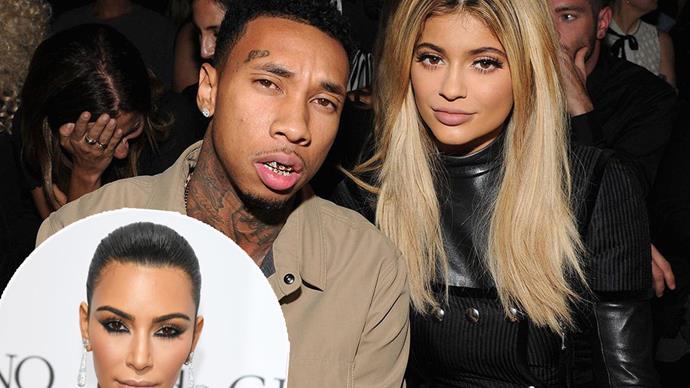 Kylie Jenner, Tyga, Kim Kardashian