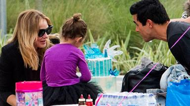 Jessica Marais and James Stewart celebrate Scout's fourth birthday