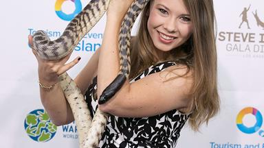 Bindi Irwin celebrates her father's legacy