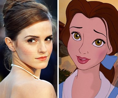 First look of Emma Watson in the new Beauty and the Beast film