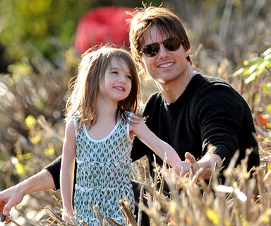 Suri Cruise has been secretly calling dad Tom Cruise