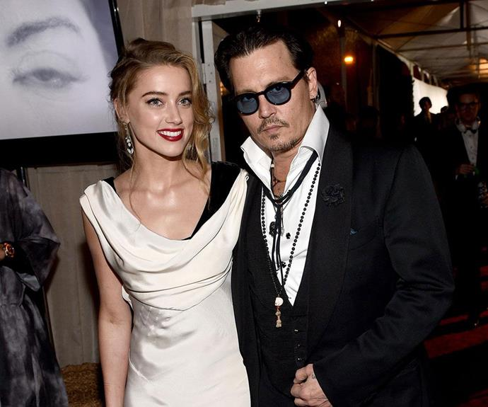 Johnny and Amber had been married for 15 months when Amber filed for divorce on Monday. Photo: Getty