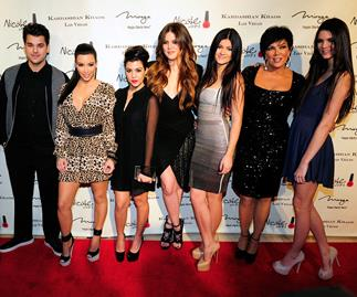 Kim Kardashian and The Kardashians