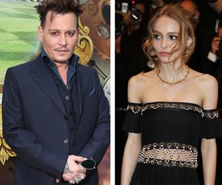 Johnny Depp Lily-Rose Depp