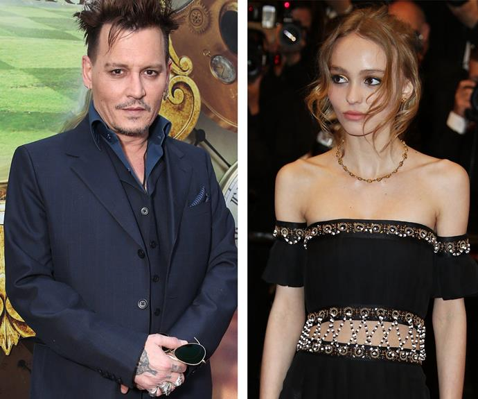 lily rose depp and johnny relationship history