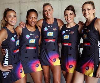 Waikato-Bay of Plenty Magic netball team