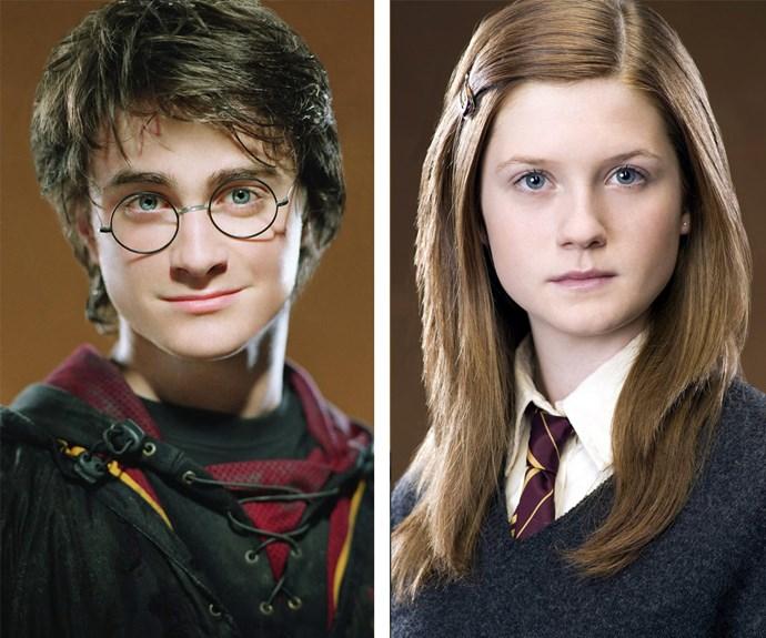 Harry Potter Daniel Radcliffe Ginny Weasley Bonnie Wright